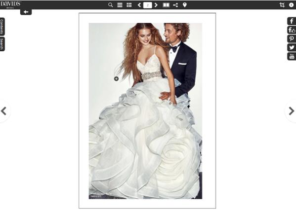 Davids Bridal Online catalog