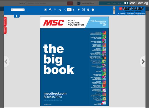 MSC Online Catalog